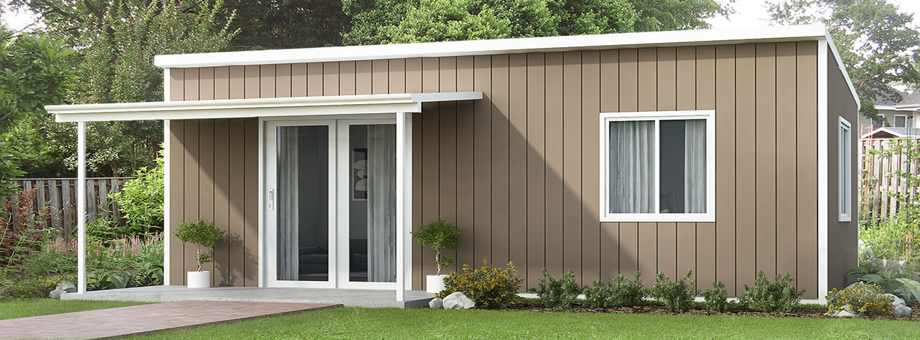 The Daintree - Modular Insulated Panel DIY Kit Home by QuickBuilt Homes