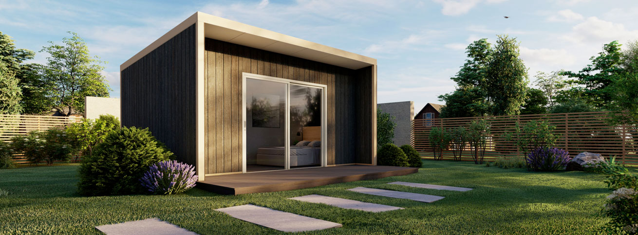 The Flinders modular flat pack kit home by Quick Built Systems