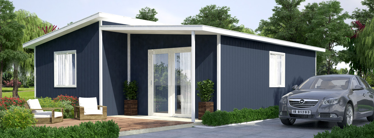 The Katherine - Modular Insulated Panel DIY Kit Home by QuickBuilt Homes