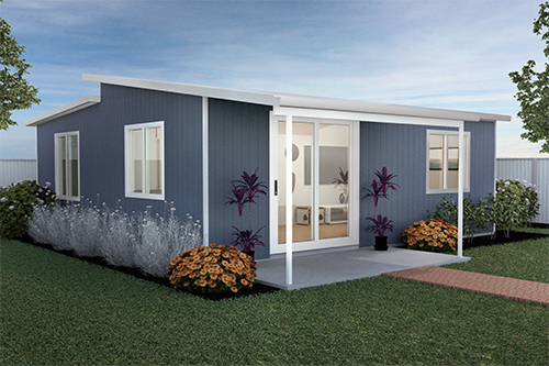 This Quality Affordable Quickbuilt Modular Diy Kit Home The Kimberley Features 2 Bedrooms