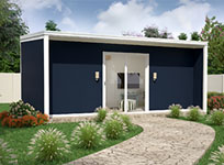 The Cabana insulated panel modular kit home