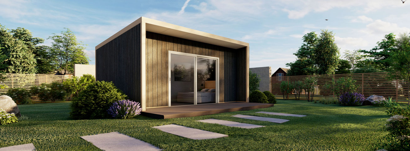 The Flinders - Modular Insulated Panel DIY Kit Home by QuickBuilt Homes