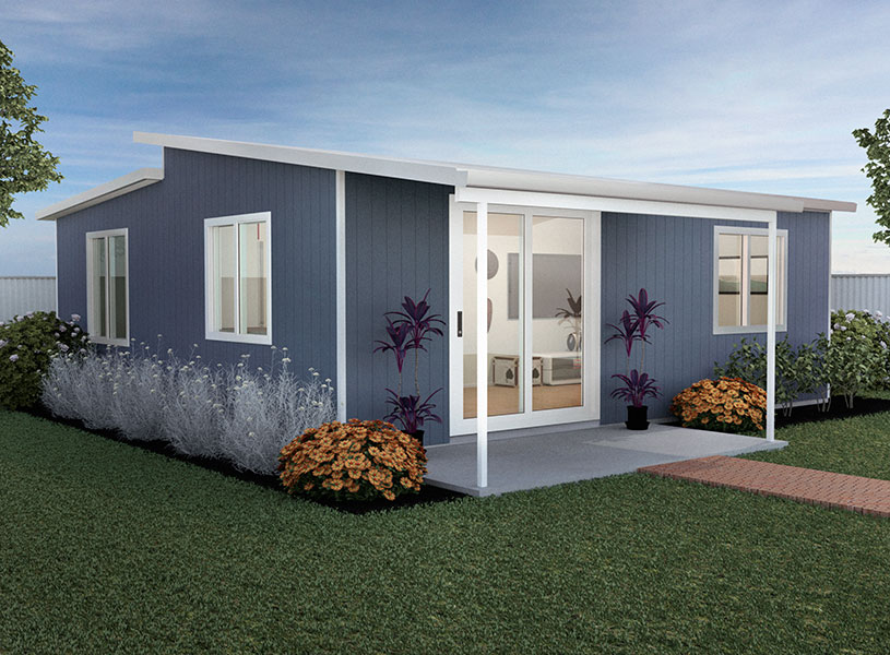 The Daintree insulated panel modular kit home