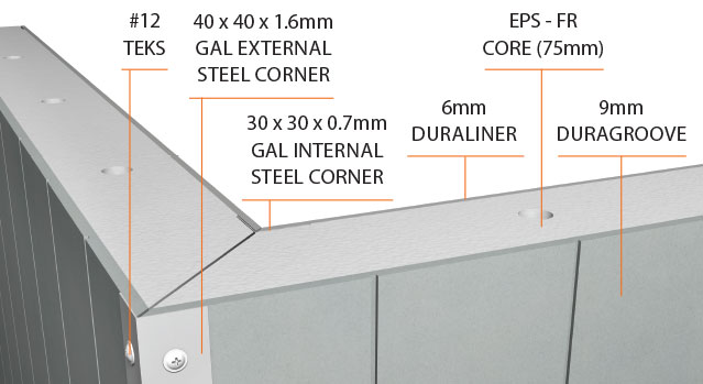 Quickbuilt External Corner Join Detail