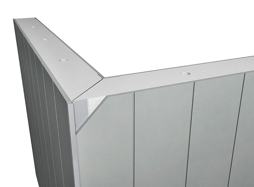External insulated panel Corner Join Detail