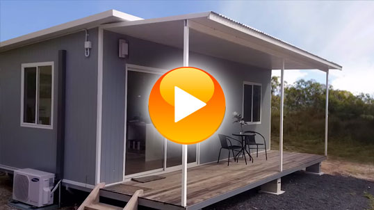 Watch this timelapse construction of the Kimberely. It shows just how easy it is to build your very own modular Quick Built home.